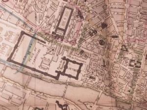 Map of Paris (1839), owned by Anthony Trollope