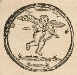 Woodcut of Cupid, from Douce Ballads 1(20b) [detail]